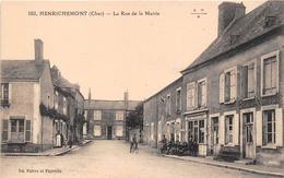 ¤¤  -  102  -  HENRICHEMONT   -  La Rue De La Mairie  -  ¤¤ - Henrichemont