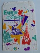 Alt974 Busta Porta Cartoline Postcard Bag Eurodisney Euro Disney Resort Paris Parigi Anno Di Inaugurazione 1992 Topolino - Supplies And Equipment