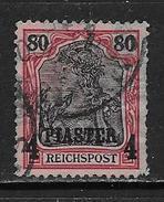 Levant Bureaux Allemands YT 18 Oblitéré. - Offices: Turkish Empire