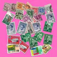 1901 - CEYLON -   Lot De Timbres  Oblitérés - Sri Lanka (Ceylan) (1948-...)