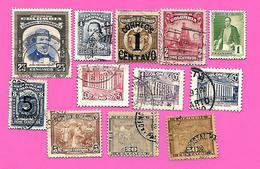 1902 - COLOMBIE  -   Lot De Timbres  Oblitérés - Colombie