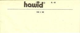 HAWID - Blocs 190x80 Mm (10) - Fond Noir - Mounts