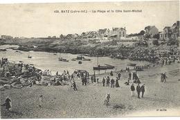 44 BATZ  SUR  MER  LA  PLAGE  ET  LA  COTE  ST  MICHEL - Batz-sur-Mer (Bourg De B.)