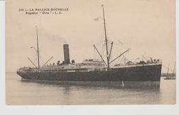 """Charente Maritime LA PALLICE LA ROCHELLE Paquebot """"Oritat"""" - La Rochelle"""