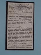 DP Rosalia VANKEERBERGEN ( Leclercq ) Hoeilaart 30 Maart 1872 - 11 Feb 1939 ( Zie Foto´s ) !