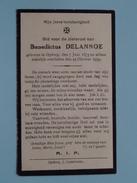 DP Benedictus DELANNOE () Opdorp 7 Juni 1873 - 23 Okt 1939 ( Zie Foto´s ) !