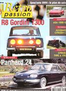 Revue Auto RETRO PASSION N° 168 :R 8 Gordini 1300,Panhard 24,ASA 1000 GT, Citroen Type A, C4 ,novembre 2004,TTB - Auto/Moto