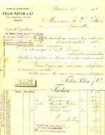 N°37 M -facture Félix Potin - France