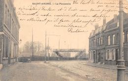 59. SAINT-ANDRE.  LA PASSERELLE ET LA RUE.  BEAU PLAN. 1905