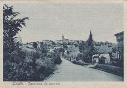 GIOIELLA-PERUGIA-PANORAMA DA PONENTE-VIAGGIATA-FRANCOBOLLO INTEGRO-vedi Descrizione-ORIGINALE 100% - Perugia