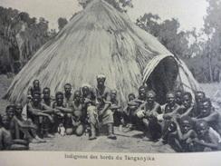 Indigénes Des Bords Du Tanganyika 1914 - Documents Historiques