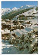 LA CLUSAZ--1989-- Station Des Aravis,Rendez-vous De La Neige Et Du Soleil (pistes Au Fond)cpm N° 1054 éd Seca...à Saisir - La Clusaz
