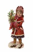 DECOUPI GAUFFRE PETITE FILLE DE NOEL - CHOCOLAT PAYRAUT - Motiv 'Weihnachten'