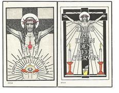 P 108.  E.Broeder  ADJUTUS  -  Jozef DINGS - Minderbroeder-missionaris -  °TEGELEN (Ned.) 1894/ +KOLWEZI (Congo)1949 - Imágenes Religiosas