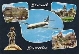 Sabena Caravelle Bruxelles Brussel Postcard - 1946-....: Moderne