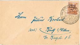 20570. Carta ROSTOCK (Alemania Zona Sovietica) 1949. Fechador Especial - Sowjetische Zone (SBZ)