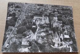 Provins - Vue Aérienne De La Ville Haute - Descente De La Rue Saint Thibault - Provins