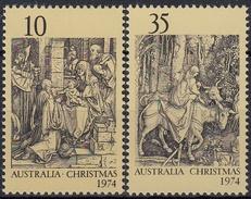AUSTRALIA 1974 Nº 547/48 NAVIDAD NUEVO - Navidad