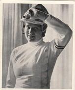 IMAGES CIGARETTES LIGA 163 - JEUX OLYMPIQUES 1936  - ELLEN PREIS - Escrime