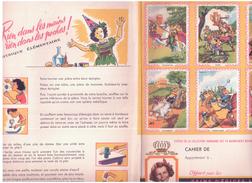 P E V/Protèges Cahiers Pain D'épices Vandamme (3 Modèles Différents) N 3 - Protège-cahiers