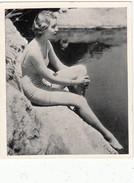 IMAGES CIGARETTES LIGA 135 - JEUX OLYMPIQUES 1936  - RAST AU SOLEIL - Natation