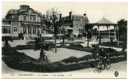 50 : CHERBOURG - LE CASINO, LES JARDINS (LL) - Cherbourg