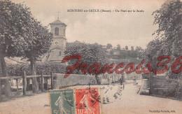(55) Meuse - Montiers Sur Saulx - Un Pont Sur La Saulx - Voir Les Scans - Montiers Sur Saulx