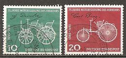 BRD 1961 // Mi. 363/364 O (006..921) - [7] République Fédérale