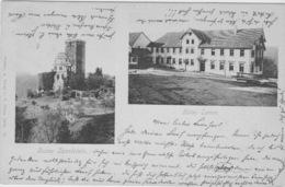 Bad Teinach, Ruine Zavelstein Und Hotel Lamm. - Bad Teinach