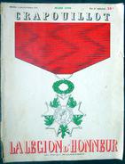 LE CRAPOUILLOT LA LEGION D'HONNEUR 1938 MILITARIA NUMERO ENTIEREMENT CONSACRE  A CETTE DISTINCTION ET AUX DECORES - Livres, BD, Revues