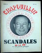 LE CRAPOUILLOT LES SCANDALES DE LA IV°  1954  AUTRE NUMERO ENTIEREMENT CONSACRE  AUX AFFAIRES POLITIQUES ET FINANCIERES - Histoire