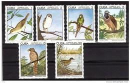 OISEAUX - Cuba 1975 - N° 1853 à 1858 - Neufs ** - Collections, Lots & Series