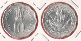 India 10 Paisa 1974 FAO - India