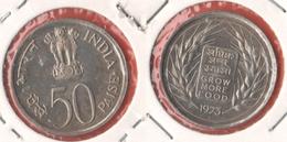 India 50 Paisa 1973 FAO - India