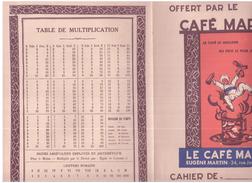 C M/ Protège Cahier Café Martin - Protège-cahiers
