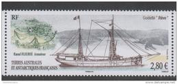 TAAF, FRENCH ANTARCTIC, 2016, MNH, SHIPS, GOLETTE REVE, MOUNTAINS, 1v - Barche