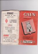 Plan   Calvados :  CAEN  , Mondeville, Hérouville  St  Clair   Guide  Blay - Europe