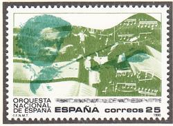 ESPAGNE - 1990 - Musique Orchestre - Yvert 2703 Neuf ** - 1981-90 Nuovi