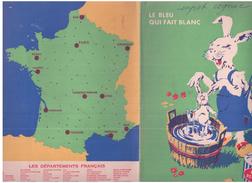 R /Protège Cahier Reckitt Le Bleu Qui Fait Blanc Neuf - Protège-cahiers