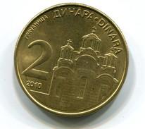 2010 Serbia 2 Dinar Coin - Serbie