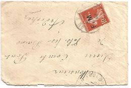FM N°10 SUR LETTRE DU 1/12/1912 - 1877-1920: Semi Modern Period