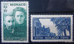 MONACO                N° 167/168            NEUF* - Monaco