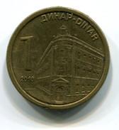 2010 Serbia 1 Dinar Coin - Serbia