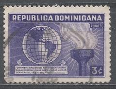 Dominican Republic 1938. Scott #333 (U) Globe And Torch Of Liberty * - Dominicaine (République)