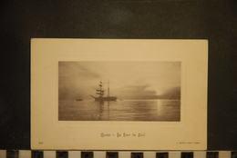 CP, Marine, Au Lever Du Soleil, Bateaux, Transports - Barche
