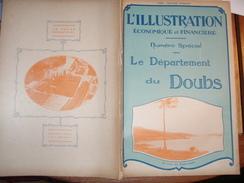 DOUBS/BESANCON/HORLOGERIE /PONTARLIER/MONTBELLIARD/ ZEDEL/PEUGEOT /SOCHAUX /ILLUSTRATION ECONOMIQUE FINANCIERE - Livres, BD, Revues