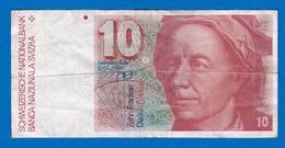 SUISSE  10 FRANCS DE 1979/1982   REFD121216 - Suisse