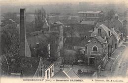59. GONDECOURT.  BRASSERIE BAUDUIN.  TRES BEAU PLAN. 1908 - Francia