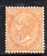 T2006 - REGNO 1863 Il N. 17 Usato - 1861-78 Vittorio Emanuele II