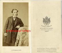 CDV Homme-notable-mode Second Empire-photographe L. Pierson Photographe De L'empereur à Paris - Photographs